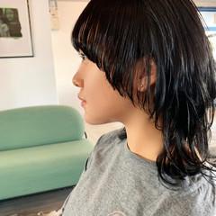 ウルフレイヤー ウルフカット マッシュウルフ こなれ感 ヘアスタイルや髪型の写真・画像