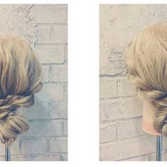 結婚式 グラデーションカラー ロング ヘアアレンジ ヘアスタイルや髪型の写真・画像