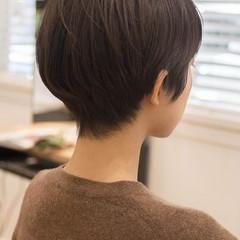 大人かわいい フェミニン ショートヘア ショートカット ヘアスタイルや髪型の写真・画像