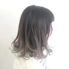 外国人風 透明感 ストリート アッシュ ヘアスタイルや髪型の写真・画像