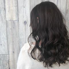 アッシュグレージュ 外国人風 上品 アッシュ ヘアスタイルや髪型の写真・画像