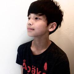 子供 黒髪 ストリート ボーイッシュ ヘアスタイルや髪型の写真・画像