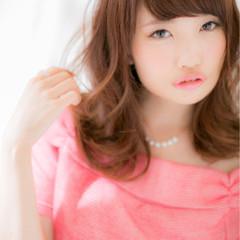 ハイライト コンサバ パーマ モテ髪 ヘアスタイルや髪型の写真・画像