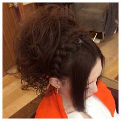 大人かわいい ゆるふわ ヘアアレンジ セミロング ヘアスタイルや髪型の写真・画像