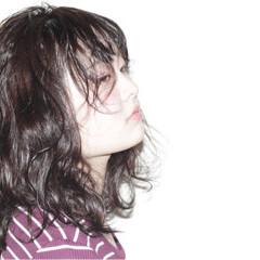 波ウェーブ ロング ガーリー 外国人風 ヘアスタイルや髪型の写真・画像