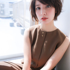 エレガント 上品 色気 かっこいい ヘアスタイルや髪型の写真・画像