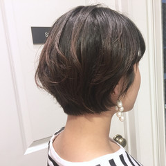 ナチュラル ショート 無造作 ヘアアレンジ ヘアスタイルや髪型の写真・画像