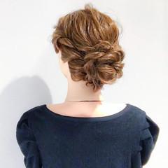 上品 ヘアアレンジ ロング エレガント ヘアスタイルや髪型の写真・画像