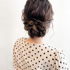 ふわふわヘアアレンジ ヘアセット動画 フェミニン ヘアセット ヘアスタイルや髪型の写真・画像