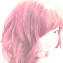 ミディアム パープル ガーリー アッシュ ヘアスタイルや髪型の写真・画像