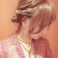 夏 ショート ボブ ヘアアレンジ ヘアスタイルや髪型の写真・画像