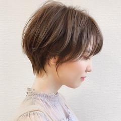 ショートヘア ショート ショートボブ フェミニン ヘアスタイルや髪型の写真・画像