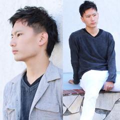 黒髪 坊主 ショート メンズ ヘアスタイルや髪型の写真・画像