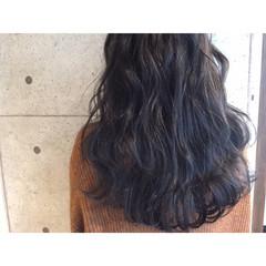 ブルージュ オリージュ パープル ブルー ヘアスタイルや髪型の写真・画像