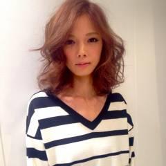 モテ髪 ゆるふわ フェミニン コンサバ ヘアスタイルや髪型の写真・画像