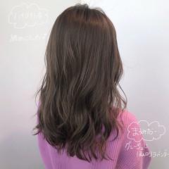 大人ハイライト イルミナカラー ナチュラル 透明感カラー ヘアスタイルや髪型の写真・画像
