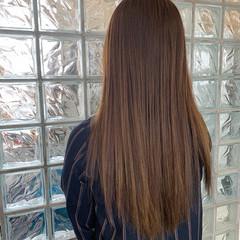 キャラデコミュゼリア ナチュラル ヘアカラー マット ヘアスタイルや髪型の写真・画像