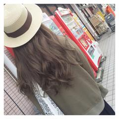 くせ毛風 外国人風 グラデーションカラー ストリート ヘアスタイルや髪型の写真・画像