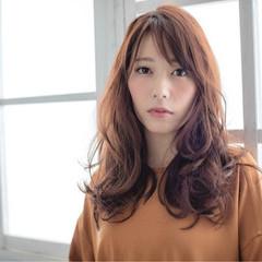 ゆるふわ コンサバ 暗髪 秋 ヘアスタイルや髪型の写真・画像