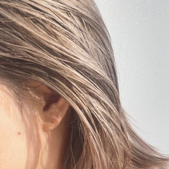 外国人風カラー ヘアカラー イルミナカラー モード ヘアスタイルや髪型の写真・画像