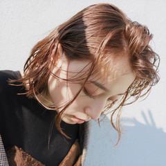 大人かわいい 外ハネ モード ボブ ヘアスタイルや髪型の写真・画像