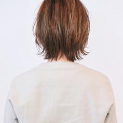 ボブ マッシュウルフ ウルフカット レイヤーボブ ヘアスタイルや髪型の写真・画像