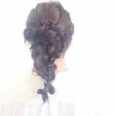 ストリート 黒髪 ヘアアレンジ ロング ヘアスタイルや髪型の写真・画像