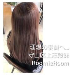 名古屋市守山区 ナチュラル ロング 髪の病院 ヘアスタイルや髪型の写真・画像