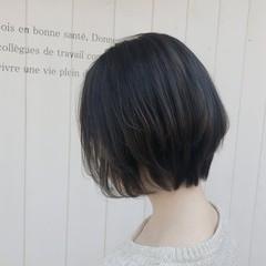 大人可愛い ショートボブ ショートヘア 30代 ヘアスタイルや髪型の写真・画像