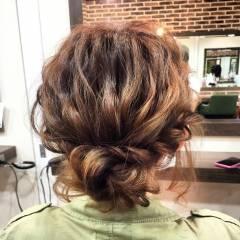 ヘアアレンジ 成人式 まとめ髪 編み込み ヘアスタイルや髪型の写真・画像