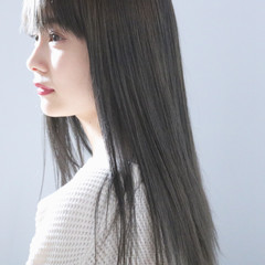 ナチュラル アンニュイほつれヘア ヘアアレンジ ロング ヘアスタイルや髪型の写真・画像