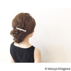 花嫁 ヘアアレンジ 外国人風 ロング ヘアスタイルや髪型の写真・画像