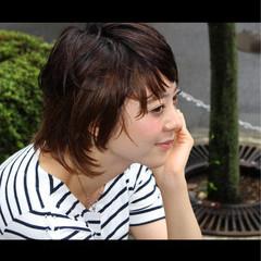 ショート 大人かわいい 外国人風 色気 ヘアスタイルや髪型の写真・画像