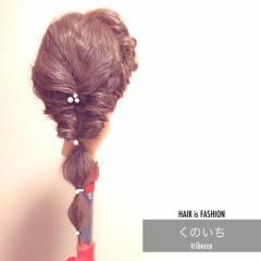 ナチュラル ヘアスタイルや髪型の写真・画像