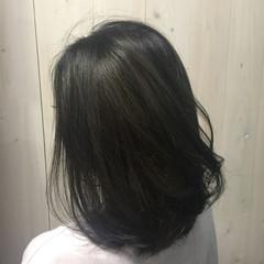 グラデーションカラー 色気 外国人風 アッシュグレージュ ヘアスタイルや髪型の写真・画像