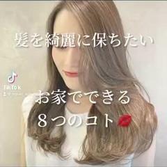 ナチュラル セミロング 大人ミディアム 韓国ヘア ヘアスタイルや髪型の写真・画像