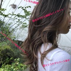 大人カラー ヘルシースタイル 360度どこからみても綺麗なロングヘア ロング ヘアスタイルや髪型の写真・画像