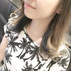 外国人風 ストリート インナーカラー ハイトーン ヘアスタイルや髪型の写真・画像