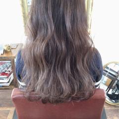 ロング ブリーチ ガーリー ハイライト ヘアスタイルや髪型の写真・画像