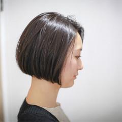 黒髪 暗髪 大人かわいい ナチュラル ヘアスタイルや髪型の写真・画像
