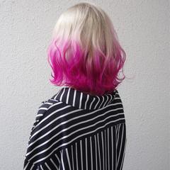 外国人風 ブリーチ 外国人風カラー ハイトーン ヘアスタイルや髪型の写真・画像