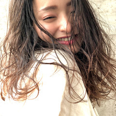 表参道 おフェロ モテ髪 ひし形シルエット ヘアスタイルや髪型の写真・画像