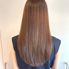 髪質改善 ロング 透明感 コンサバ ヘアスタイルや髪型の写真・画像