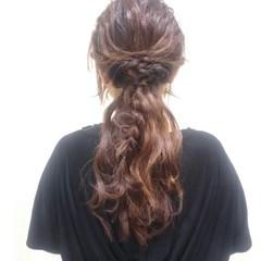 二次会 大人かわいい 大人女子 ヘアアレンジ ヘアスタイルや髪型の写真・画像