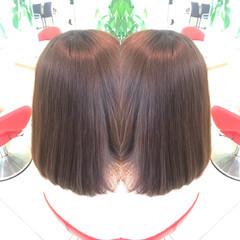 髪質改善トリートメント イルミナカラー ナチュラル アディクシーカラー ヘアスタイルや髪型の写真・画像