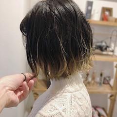 透明感カラー グラデーションカラー ストリート 外国人風カラー ヘアスタイルや髪型の写真・画像