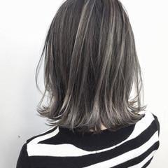 外国人風 ストリート ハイライト バレイヤージュ ヘアスタイルや髪型の写真・画像