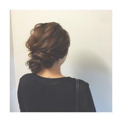 編み込み ハーフアップ ヘアアレンジ 簡単ヘアアレンジ ヘアスタイルや髪型の写真・画像