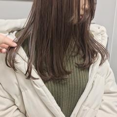 セミロング 大人カジュアル 福岡市 ツヤ髪 ヘアスタイルや髪型の写真・画像