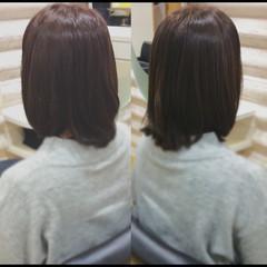 髪質改善 髪質改善カラー ナチュラル ミディアム ヘアスタイルや髪型の写真・画像